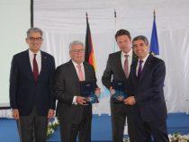 Президентите на България и Германия на посещение в Аурубис