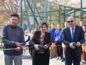 """В СУ """"С. Савов"""" бе открита спортна площадка"""