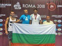 Златичанинът Захари Зашев стана вицеевропейски шампион по борба