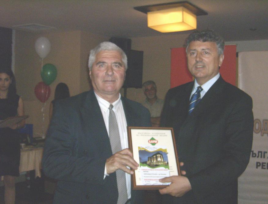Тодор Чомпалов – с журналистическа награда!