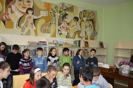Аурубис обнови и оборудва детския отдел на библиотеката в Пирдоп