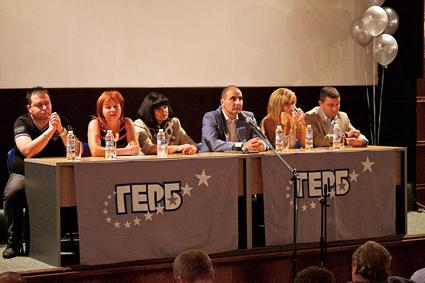 Общинската структура на ПП ГЕРБ – Пирдоп се срещна с Цветан Цветанов