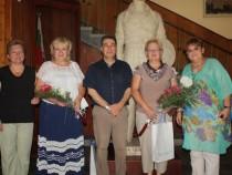 """Делегацията от Егоревск посети пирдопската гимназия и ОДЗ """"Чоконяни"""""""