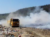 Горя пожар на сметището за битови отпадъци между Пирдоп и Златица