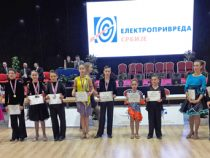Успешно представяне на турнир по спортни танци в Белград