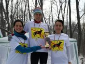 Сребърен медал за Елена Ранчева от мемориално зимно бягане