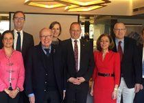"""""""Аурубис"""" отбеляза 60-годишнината на МДК – Пирдоп и в Берлин  с висши представители на германски институции"""
