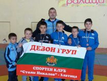 6 медала за борците от Златица!