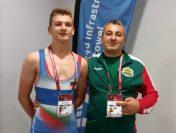 Добро класиране на Йоан Кесяков от Европейското по борба в Полша