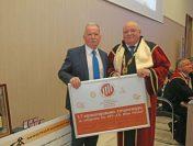Проф. дтн инж. Цоло Вутов дари стипендии за студенти на Патронния празник на Минно-геоложкия университет