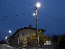 Село Бенковски с ново улично осветление