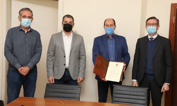 Геотехмин ООД, Елаците-Мед АД, Геострой АД и Геотрейдинг АД подписаха рамково споразумение с общината за подкрепа на приоритетни проекти