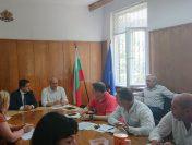 Областният управител  Радослав Стойчев проведе среща с директорите на РУ на МВР в областта във връзка с организацията и провеждането на изборите