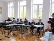 """ОУ """"Георги Бенковски"""" Мирково: Празничен час за Деня на поезията и музиката"""